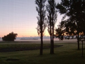 Fullerton on a beautiful June morning